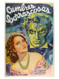 Wuthering Heights, Argentine Movie Poster, 1939 Art