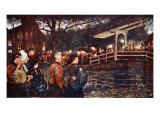 Religious Procession I, 1904 Giclee Print by Nico Jungman
