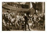 Henry Clay, Urging Measures of Compromise to Congress in Regard to Slavery Dispute in January 1850 Giclee Print by Peter Fred Rothermel