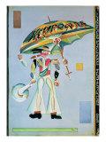 Costume Design for the Operetta 'Girofle-Giroflia by Alexandre Charles Lecocq, 1922 Giclee Print by Georgi Bogdanovich Yakulov