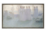 Sunday, 1898 Giclee Print by Henri Eugene Augustin Le Sidaner
