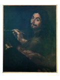 Self Portrait, C.1642 Giclee Print by Salvator Rosa