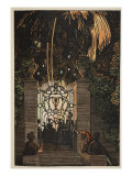 Feu D'Artifice, 1918 Giclee Print by Konstantin Andreevic Somov