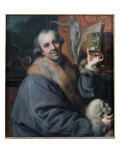 Self Portrait, C.1776 Giclee Print by Johann Zoffany