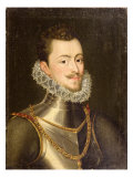 Portrait of Don John of Austria Giclee Print by Alonso Sanchez Coello