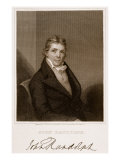 John Randolph Giclee Print by Joseph Wood