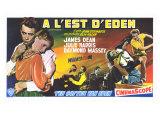 East of Eden, Belgian Movie Poster, 1955 Print