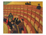 The Upper Circle at the Theatre du Chatelet, 1895 Giclee Print by Felix Edouard Vallotton