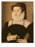 Portrait of Anne Waltham, 1572 Giclee Print by Francois Quesnel