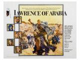 Lawrence of Arabia, 1963 Digitálně vytištěná reprodukce