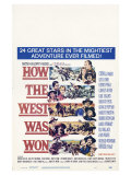 How the West Was Won, 1964 Prints