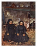 Children of Elspeet, 1904 Giclee Print by Nico Jungman