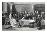 The Queen's First Council, from 'Leisure Hour', 1888 Giclee Print by Sir David Wilkie