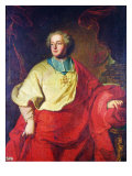 Portrait of Armand Gaston Maximilien de Rohan Giclee Print by Hyacinthe Rigaud