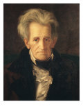 Portrait of Andrew Jackson Giclee Print by George Peter Alexander Healy