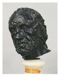 Man with a Broken Nose, 1865 Giclee Print by Auguste Rodin