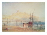 Scarborough Reproduction procédé giclée par Joseph Mallord William Turner