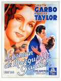 Camille, French Movie Poster, 1937 Prints