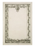 Decorative Border, 1809 Giclee Print by Philipp Otto Runge