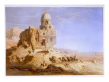 Tombs of the Khalifs, Cairo, 1871 Giclee Print by Carl Friedrich Heinrich Werner