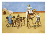 Gollywogs of the Desert, from 'The Light Side of Egypt', 1908 Giclee Print by Lance Thackeray