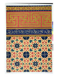 Arabic Decorative Designs Giclee Print