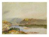 Givet from the North, c.1839 Giclee Print by Joseph Mallord William Turner