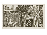 An illustration from 'The Story of King Arthur and his Knights', 1903 Giclee Print by Howard Pyle