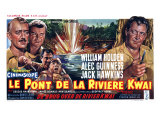 Bridge on the River Kwai, Belgian Movie Poster, 1958 Print