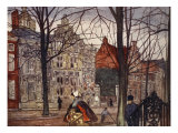 Oude Delft, 1904 Giclee Print by Nico Jungman