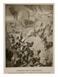 A Matabele Raid in Mashonaland, from Sketches by A.R. Colquhoun Giclee Print by William Small