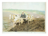 The writer Lev Nikolaevich Tolstoy Giclee Print by Ilya Efimovich Repin