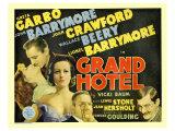 Grand Hotel, 1932 Giclee Print