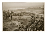 A Reconnaissance in Force with General French's Cavalry Near Colesberg Giclee Print by Richard Caton Woodville