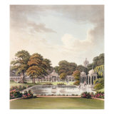 View from the Dome, Brighton Pavilion, engraved by Joseph Constantine Stadler Giclee Print by Humphry Repton