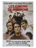 The Guns of Navarone, French Movie Poster, 1961 Prints