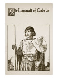 Sir Lamorack of Gales, Illustration from 'The Story of the Champions of the Round Table' Giclee Print by Howard Pyle
