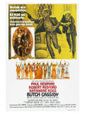 Butch Cassidy and the Sundance Kid, Argentine Movie Poster, 1969 Posters