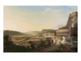 View of Vienna in Roman Times, 1860 Giclee Print by Etienne Rey