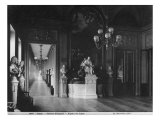 Comedie Francaise, View of the Foyer, before 1902 Giclee Print by Adolphe Giraudon