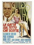 Cat On a Hot Tin Roof, Italian Movie Poster, 1958 Posters