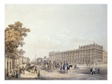 The Treasury, Whitehall, pub. by Lloyd Bros. and Co. 1852 Giclee Print by Edmund Walker