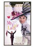 My Fair Lady, 1964 Giclee-tryk i høj kvalitet