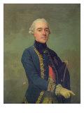 Victor Maurice de Riquet, comte de Caraman Giclee Print by Alexander Roslin