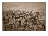 The Battle of Majuba Hill Giclee Print by Richard Caton Woodville