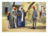 The Peacemaker, from 'The Light Side of Egypt', 1908 Giclee Print by Lance Thackeray