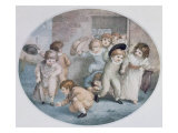 Coming from School Giclee Print by Thomas Stothard
