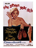 The Seven Year Itch, 1955 Reproduction procédé giclée
