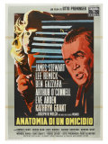 Anatomy of a Murder, Italian Movie Poster, 1959 Print