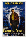 On the Waterfront, Italian Movie Poster, 1954 Giclee-vedos
